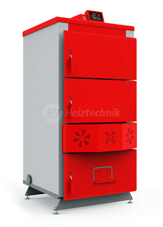 Твердотопливный котел Heiztechnik Q Plus DR 40