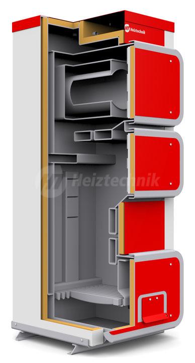 Твердопаливний котел Heiztechnik Q Hit 35. Фото 2