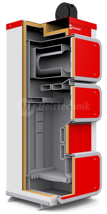 Твердопаливний котел Heiztechnik Q Hit Plus 7. Фото 2