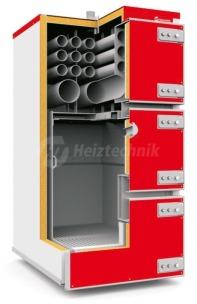 Твердопаливний котел Heiztechnik Q MAX Plus 200W. Фото 2