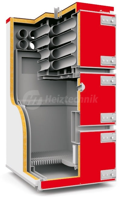Твердотопливный котел Heiztechnik Q MAX Plus DR 120. Фото 2