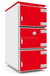 Твердотопливный котел Heiztechnik Q MAX Plus DR 120