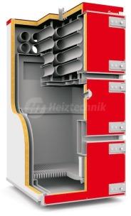 Твердотопливный котел Heiztechnik Q MAX Plus DR 300. Фото 2