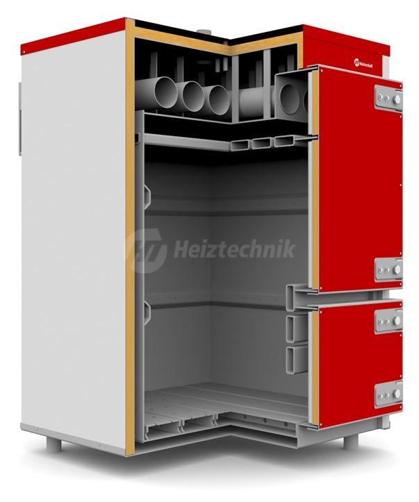Твердопаливний котел Heiztechnik Q Plus Agro 50. Фото 6