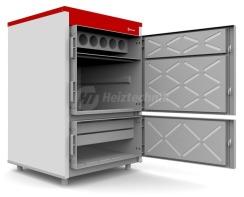 Твердопаливний котел Heiztechnik Q Plus Agro 50. Фото 4