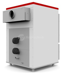 Твердопаливний котел Heiztechnik Q Plus Agro 100. Фото 2