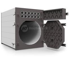 Твердотопливный котел Heiztechnik Q Plus Agro B 150. Фото 2