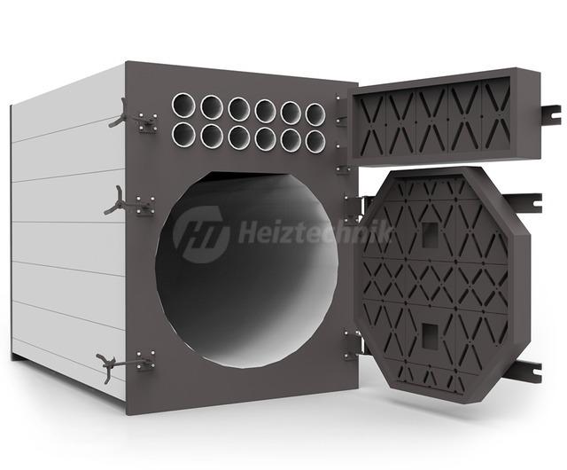 Твердотопливный котел Heiztechnik Q Plus Agro B 300. Фото 2